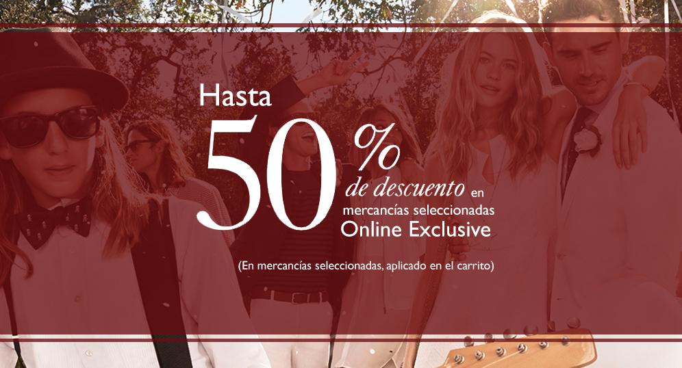TOMMY HILFIGER: Tienda en Línea en México (Envíos Gratis) Descuentos hasta del 50% en productos fuera de temporada