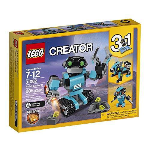 Amazon: Lego Juego de Construcción Robot Explorador