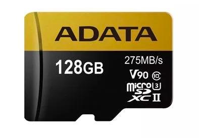Mercado Libre Tienda Oficial Adata: Memoria Micro Sd 128gb U3 (Envío gratis)