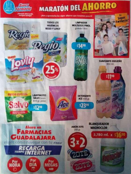 Folleto de ofertas en Farmacias Guadalajara del 1 al 15 de marzo de 2015