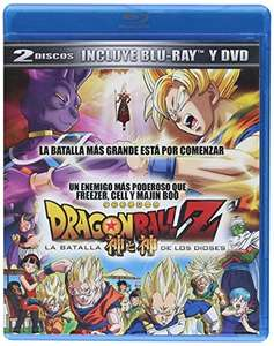 Amazon: PRIME Dragon Ball Z La Batalla de los Dioses [2 Discos: Blu-Ray]