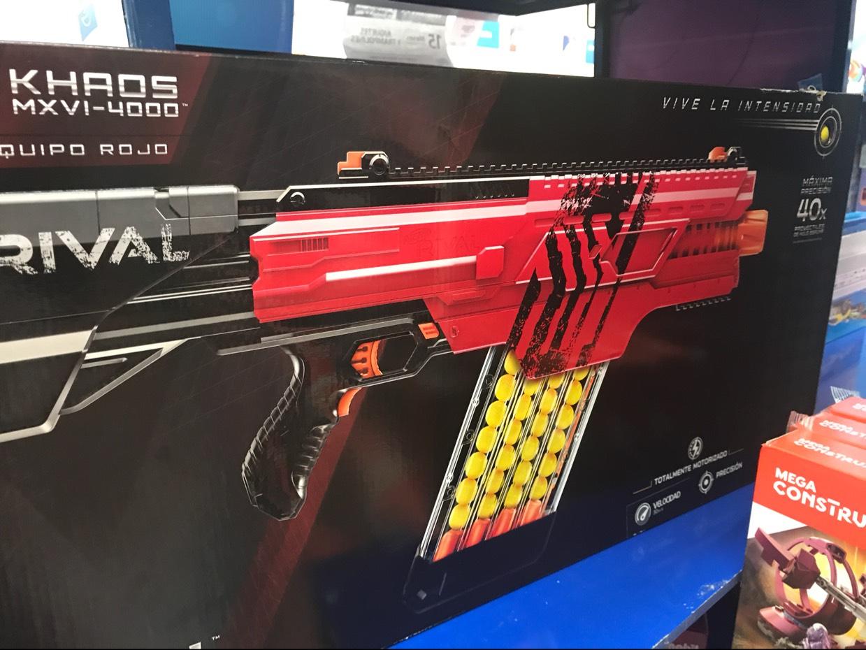 Walmart: Nerf Rival Khaos a $899.03
