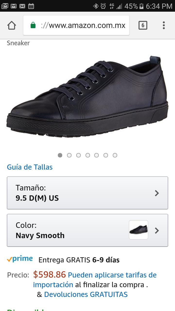 Amazon: Sneakers florsheim talla 7.5 mx