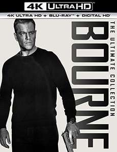 Amazon: Las 5 películas de Bourne en 4K Ultra HD + Blu-ray + Digital HD