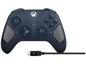 PCEL:  Control Inalámbrico para Xbox One edición Patrol Tech + cable (con Bluetooth y entrada de 3.5mm para auriculares)