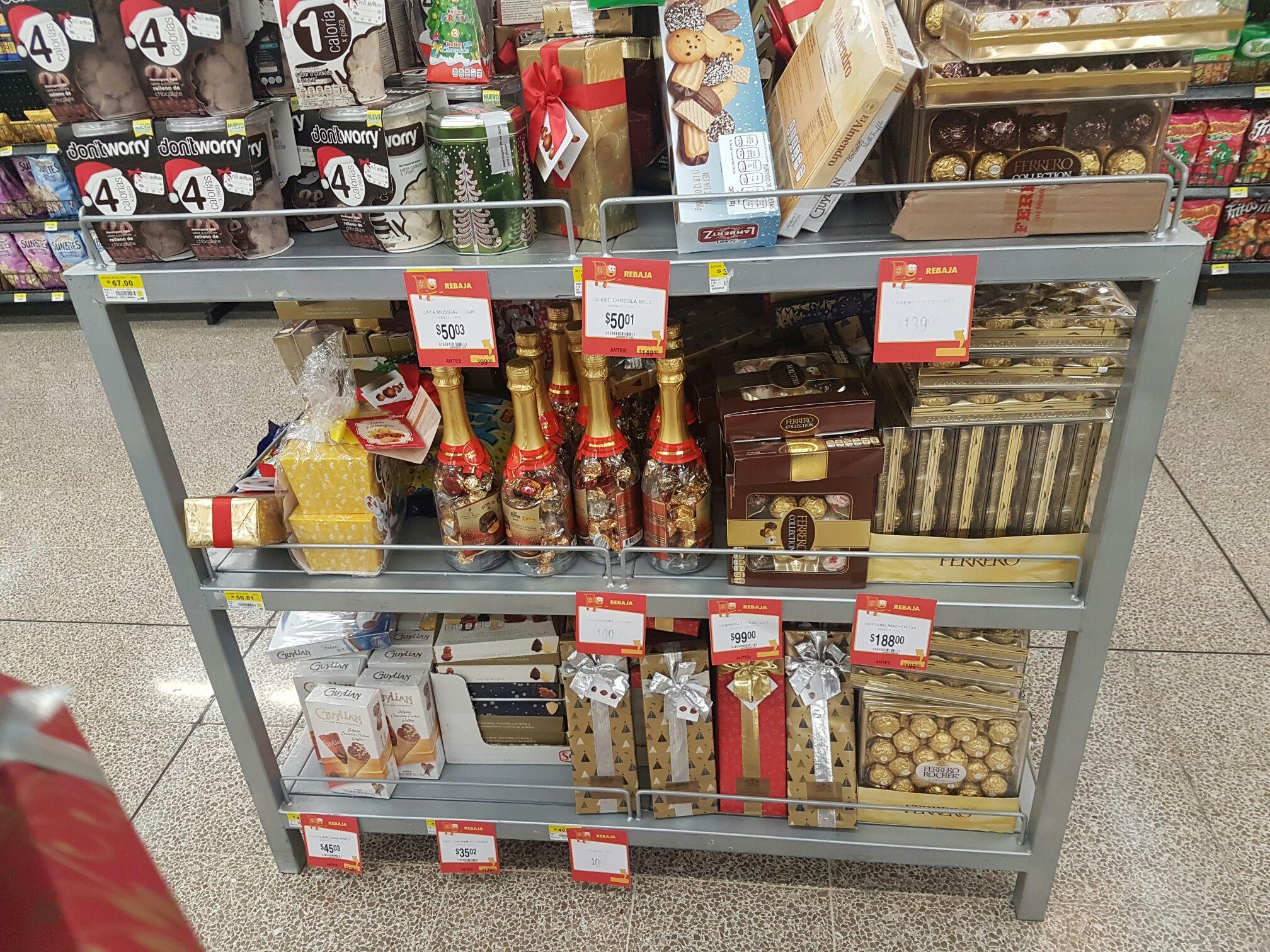 Walmart: Segunda liquidación en varios chocolates y dulces navideños