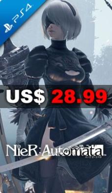 Play Asia: NieR: Automata $570 + Envio