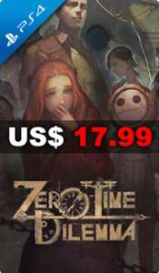 Play Asia: Zero Escape Zero Time Dilemma $354 + Envio