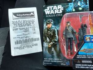 Bodega Aurrerá:  SJR: Figura Star wars Rouge One $9.01