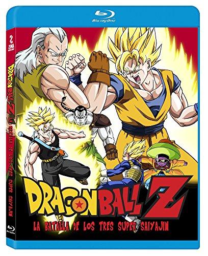 Amazon Prime Dragon Ball Z: La Batalla de Los Tres Super Saiya-Jin [Blu-ray]