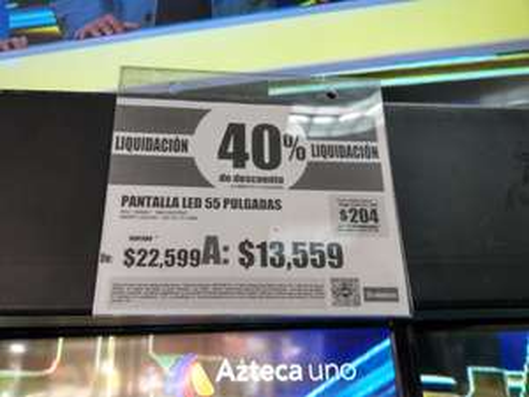 """Elektra: Pantalla Sony 55"""" UHD 4K a $13,559"""