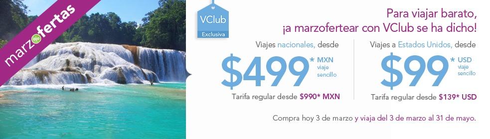 Aniversario Volaris 2015: vuelos nacionales desde $499, USA desde $99 dólares y descuento en VClub