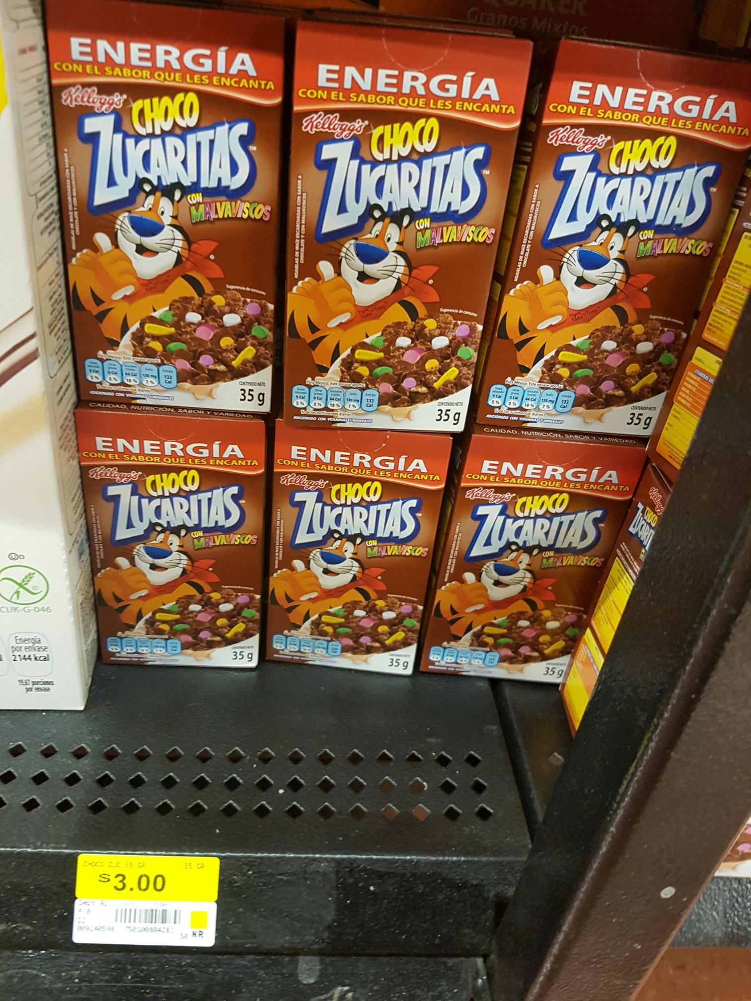 Walmart: Chocozucaritas con malvaviscos de 35gr cajitas individuales