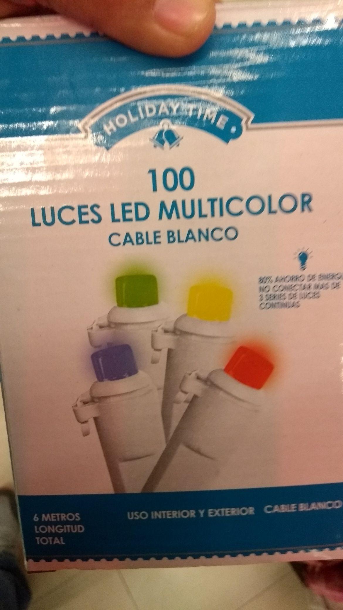 Superama San Gerónimo Monterrey NL: luces navideñas de colores a $0.01