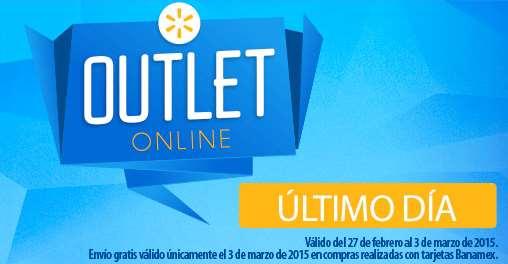 Walmart online: envío gratis en toda la tienda pagando con Banamex