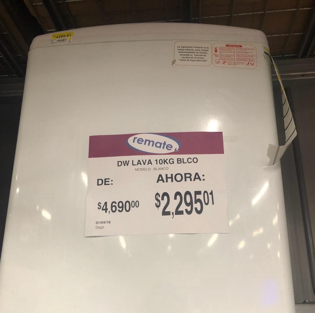 Bodega Aurrerá: lavadora de 10 kg en última liquidación