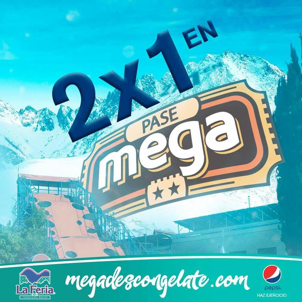 Feria de Chapultepec: cupón para 2x1 en Pase mega