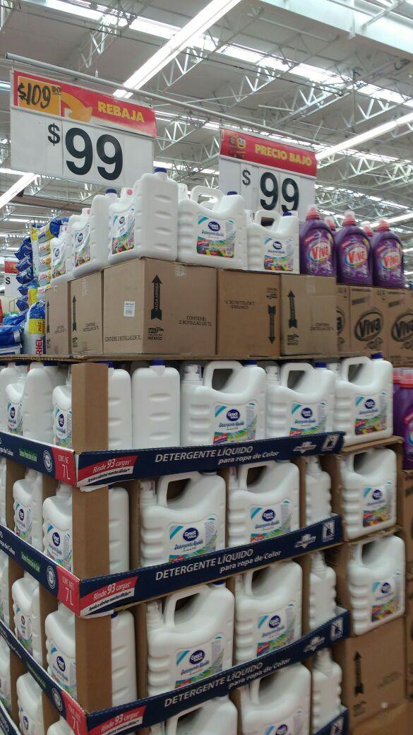 Walmart Xalapa Lázaro Cárdenas: Detergente de ropa marca great value
