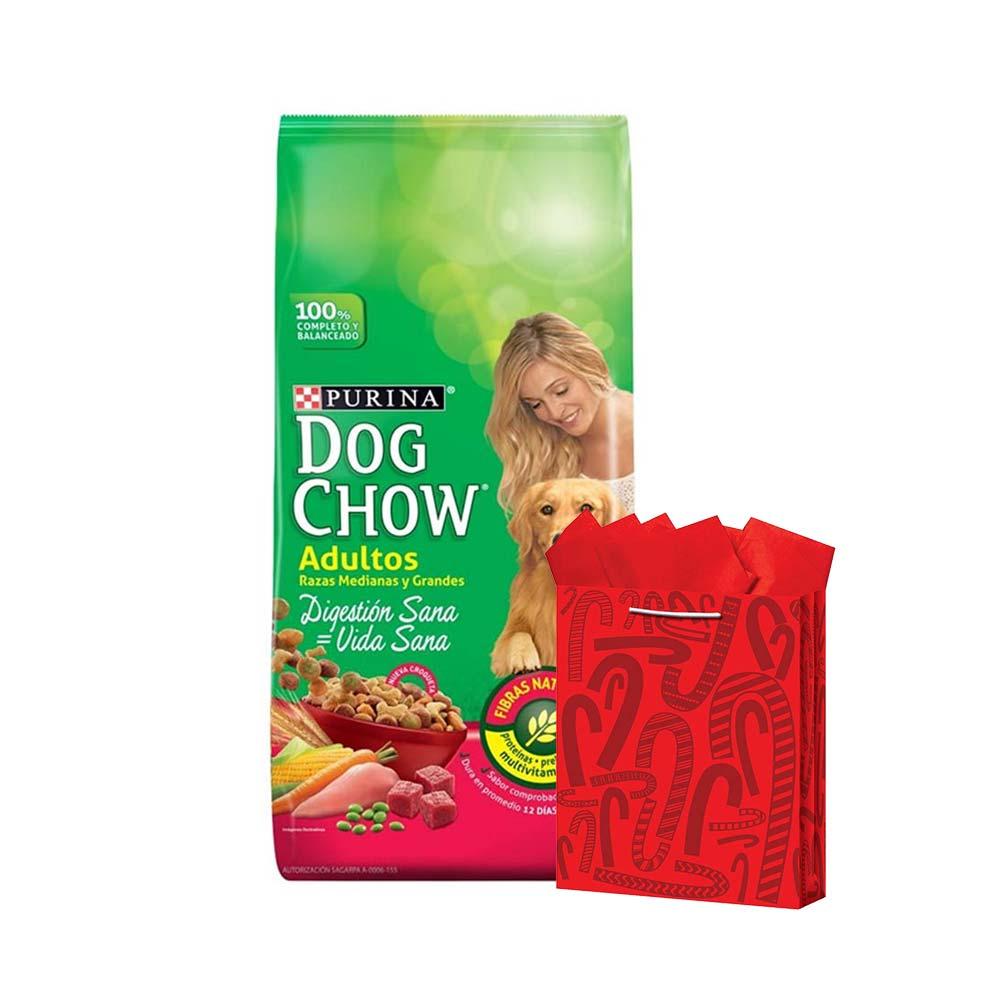 Walmart: Alimento para Perro Dog Chow Adulto Raza Grande 15kg mas Bolsa de Regalo