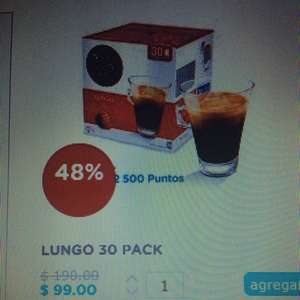 Dolce Gusto: Lungo 30 Pack $99