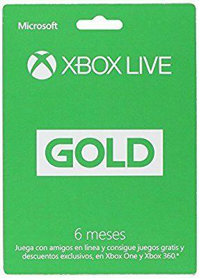 Amazon MX: Xbox Live Gold 6 meses a $475