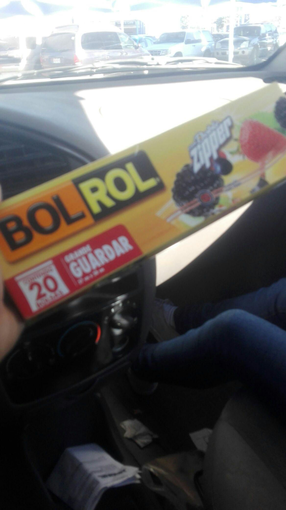 Walmart: Bolsa bol Rol doble Zipper
