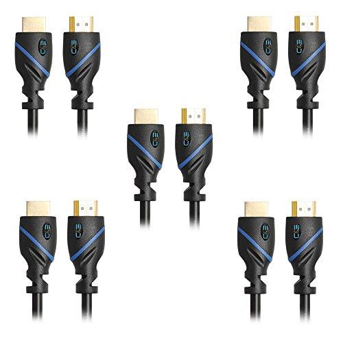 Amazon: Paquete de 5 Cables HDMI de 8.25 Metros c/u