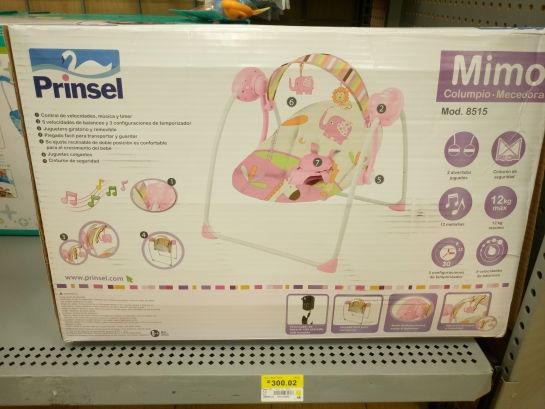 Walmart Buenavista: Columpio - Mecedora para bebe
