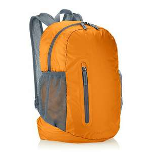 Amazon: AmazonBasics Mochila plegable, ligera, anaranjado, 35L