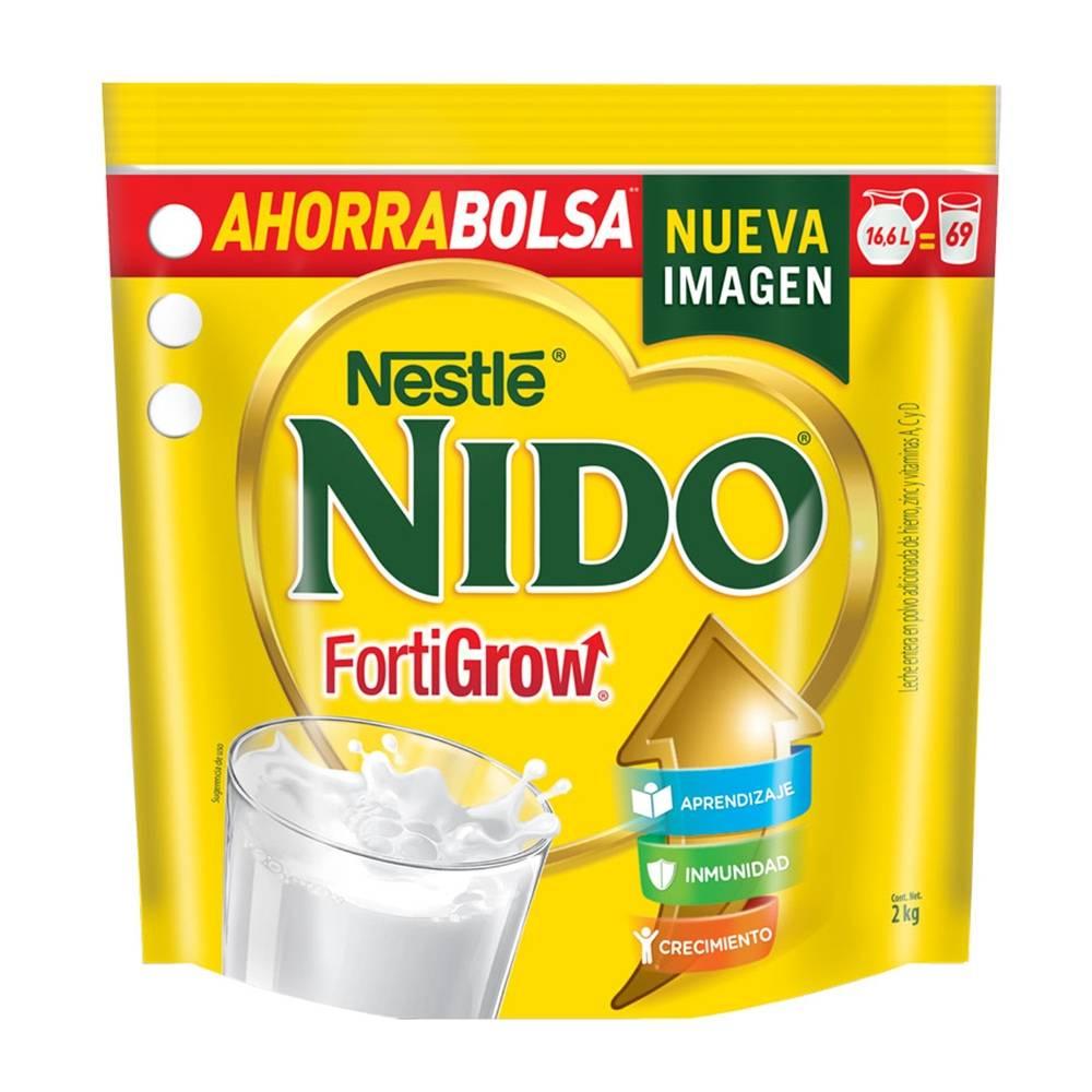 Walmart: Leche en polvo Nido forti grow en bolsa 2 kg