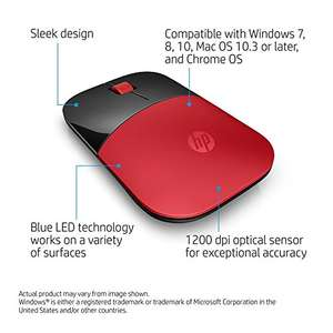 Amazon: MOUSE Hewlett Packard HP Z3700 a $190 + $145 de envío