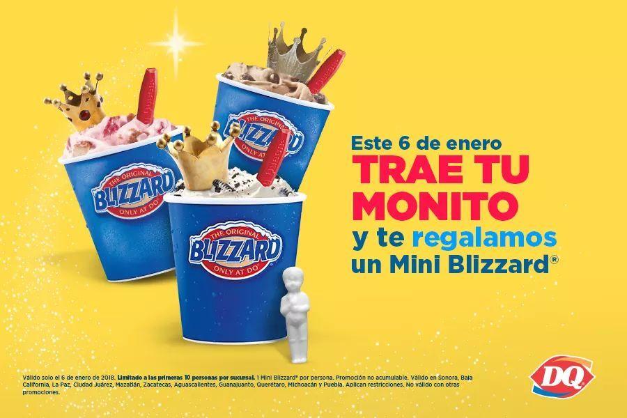 Dairy Queen: Blizzard gratis sólo hoy