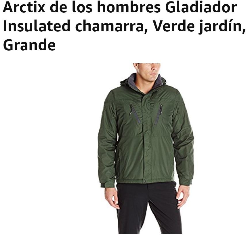 Amazon: Chamarra Arctix de los Hombres con Prime
