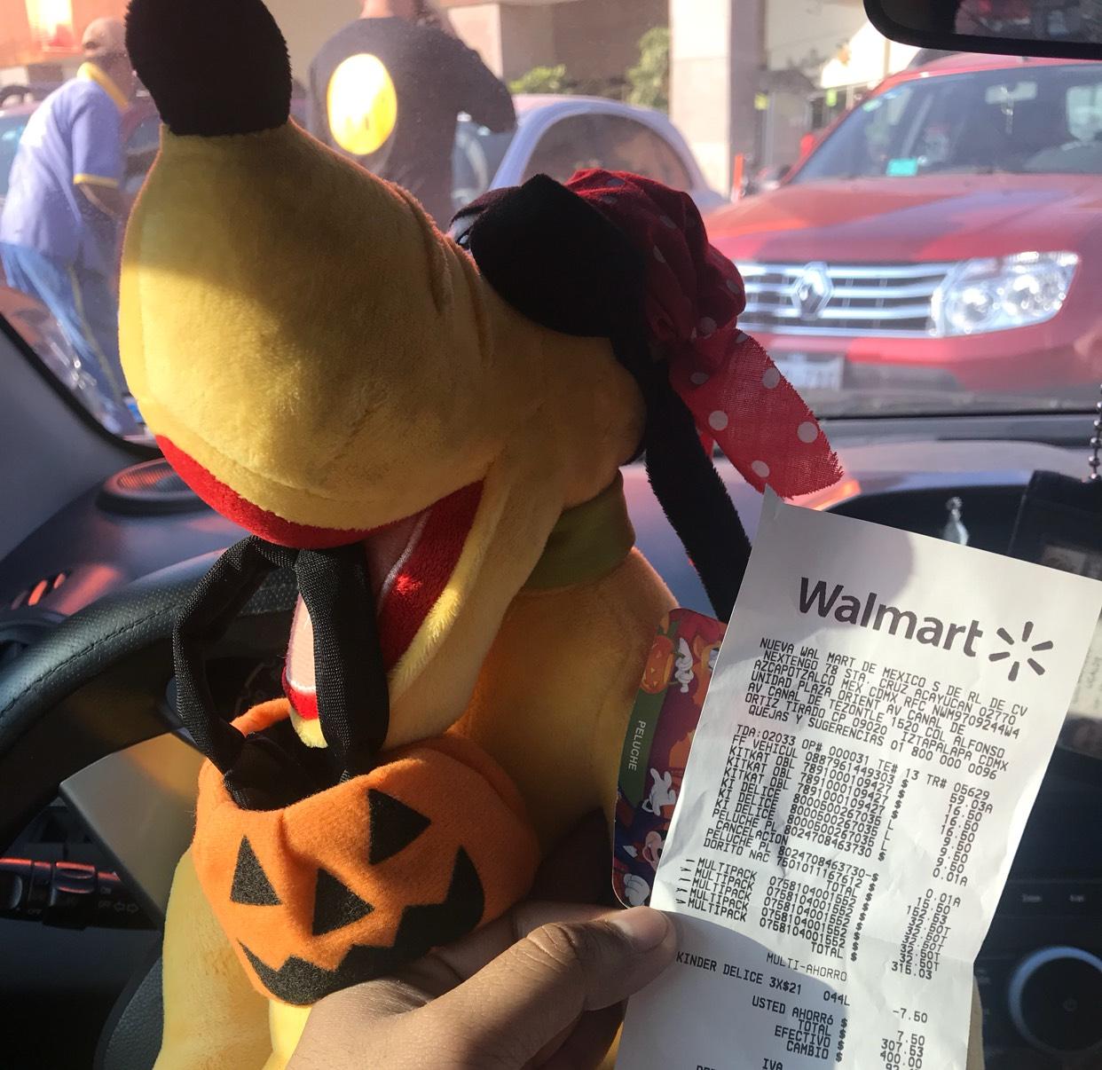 Walmart: Pluto de peluche, más cinco tarros bonafon gratis