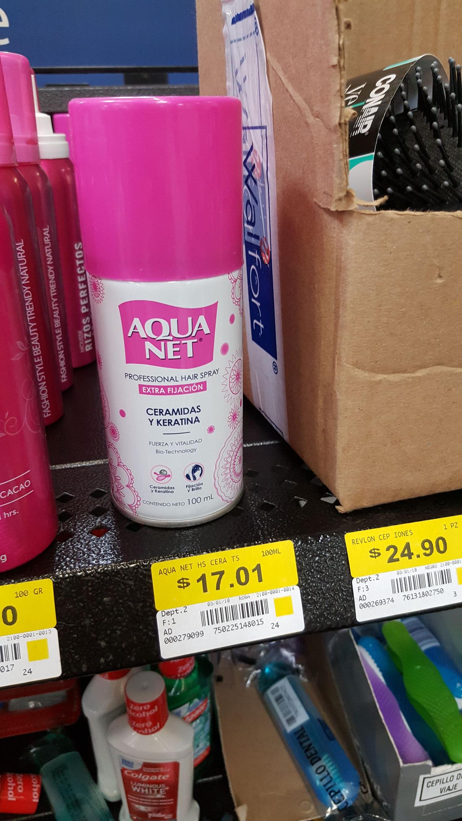Walmart Macroplaza Pto Vallarta: Spray para el cabello en liquidación y 2 ofertas más