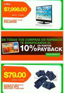"La Comer: pantalla LED Smart TV 50"" $7,998, jeans $79 y más"