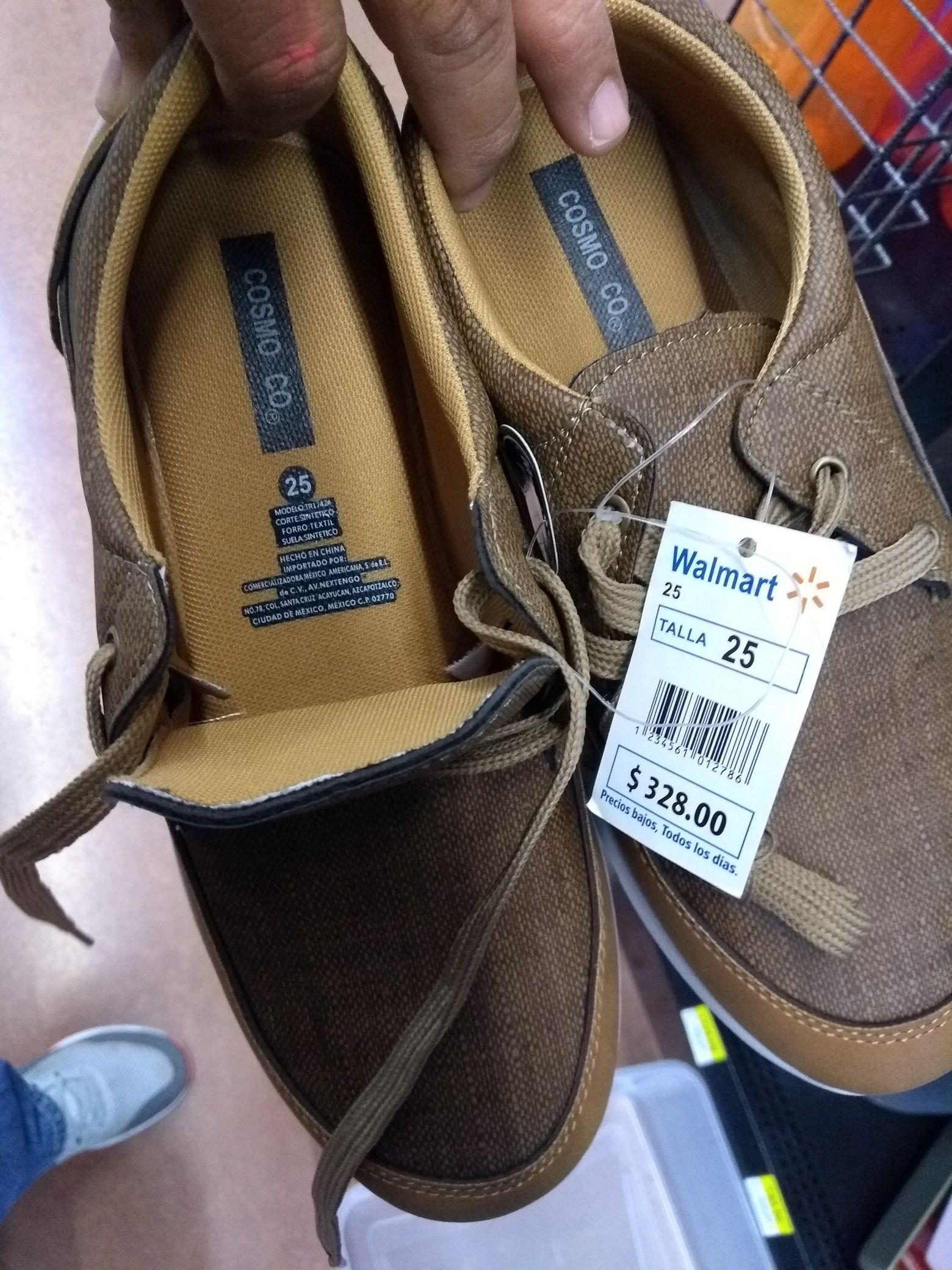 Walmart Galerías Saltillo: Tenis Cosmo Co a $30.01