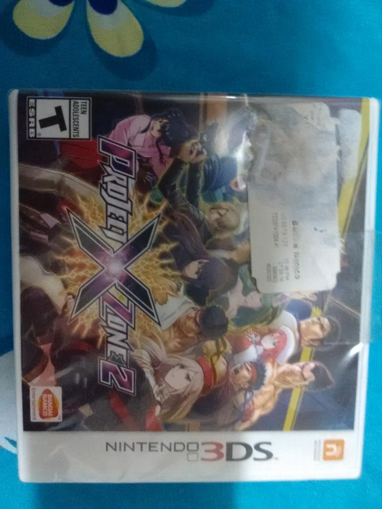 Chedraui: Juego Proyecto X Zone 2 para Nintendo 3DS
