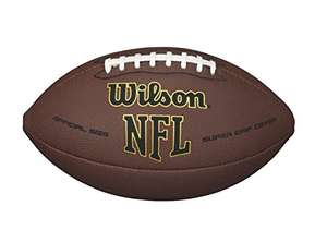 Amazon Mx: Wilson NFL Super Grip Official Football