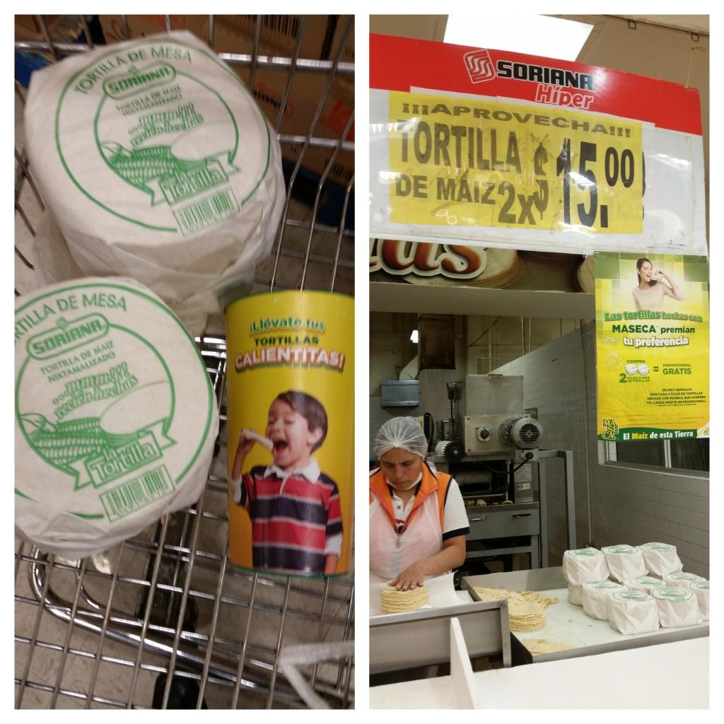 Soriana hiper 2 kilos de tortilla X $15.00 y gratis promocional
