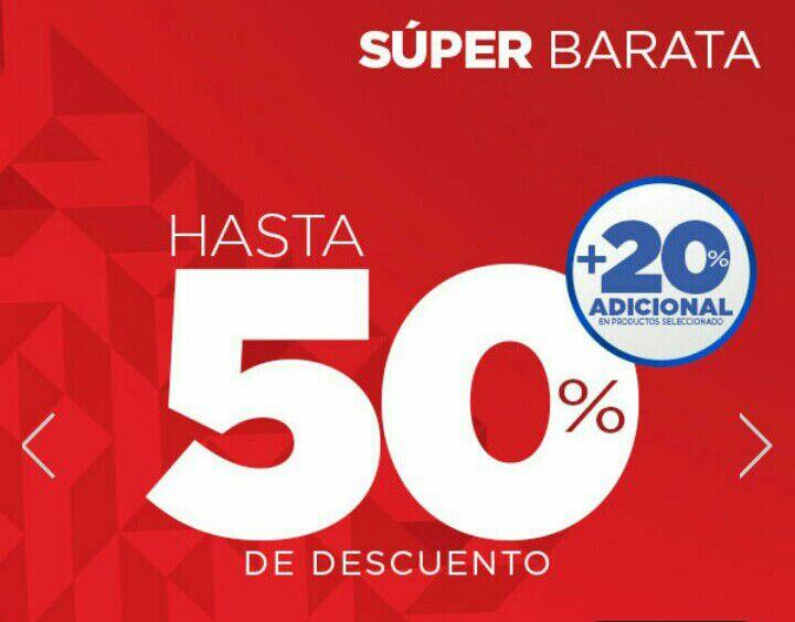 Martí: Super Barata Deportiva 2018 con rebajas de hasta 50% de descuento + 20% adicional