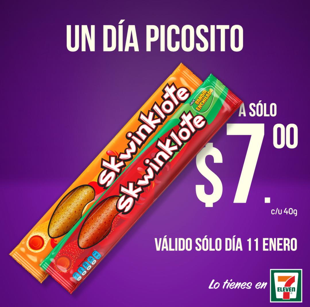 Seven eleven: Skwinklote a 7 pesos