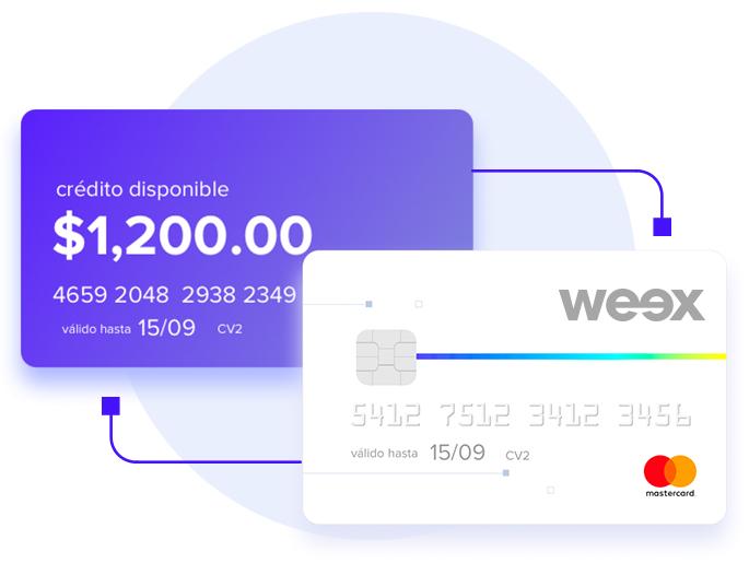 Invitacion WEEX WALLET + 50 pesos
