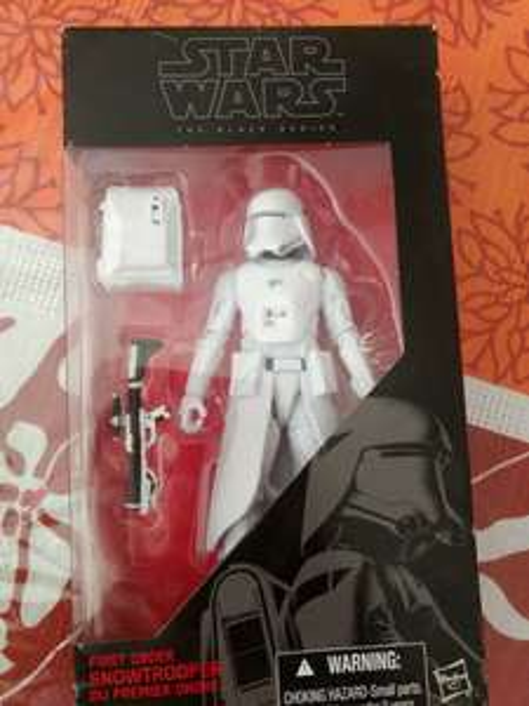 Walmart Culiacán: Star Wars Snowtropper the black series
