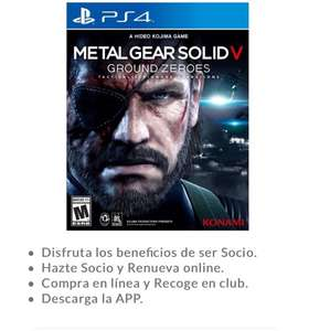 Sam's Club: Metal Gear Solid V: Ground Zeroes - PlayStation 4 Standard Edition