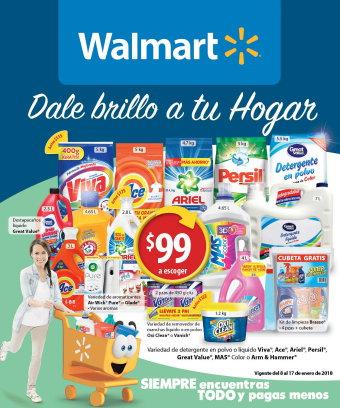 Walmart: Folleto del 08 al 17 de enero