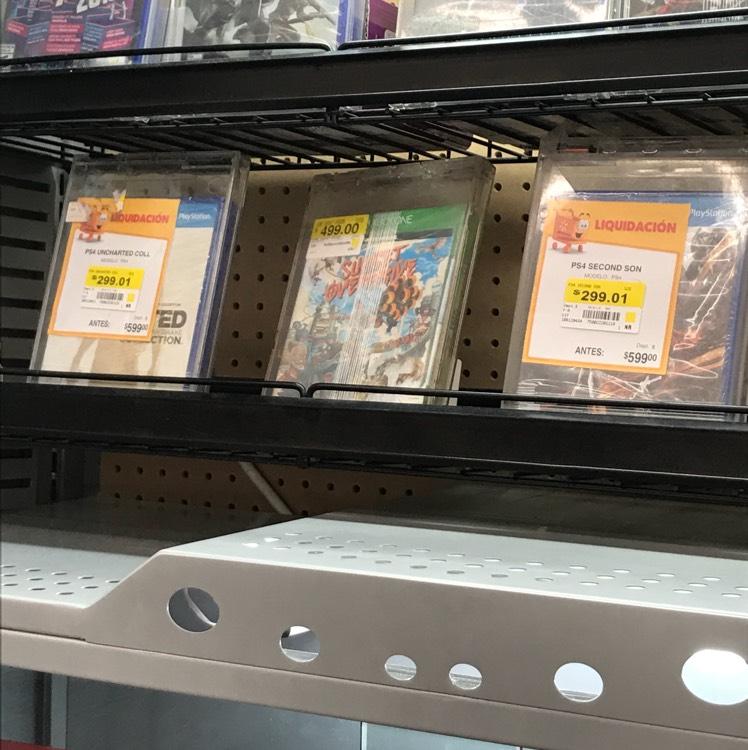 Walmart: Juegos para Play Station y Accesorios para Xbox 360