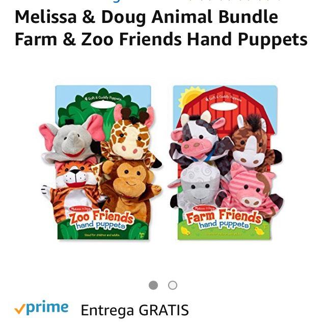 Amazon: Títeres Melissa & Doug