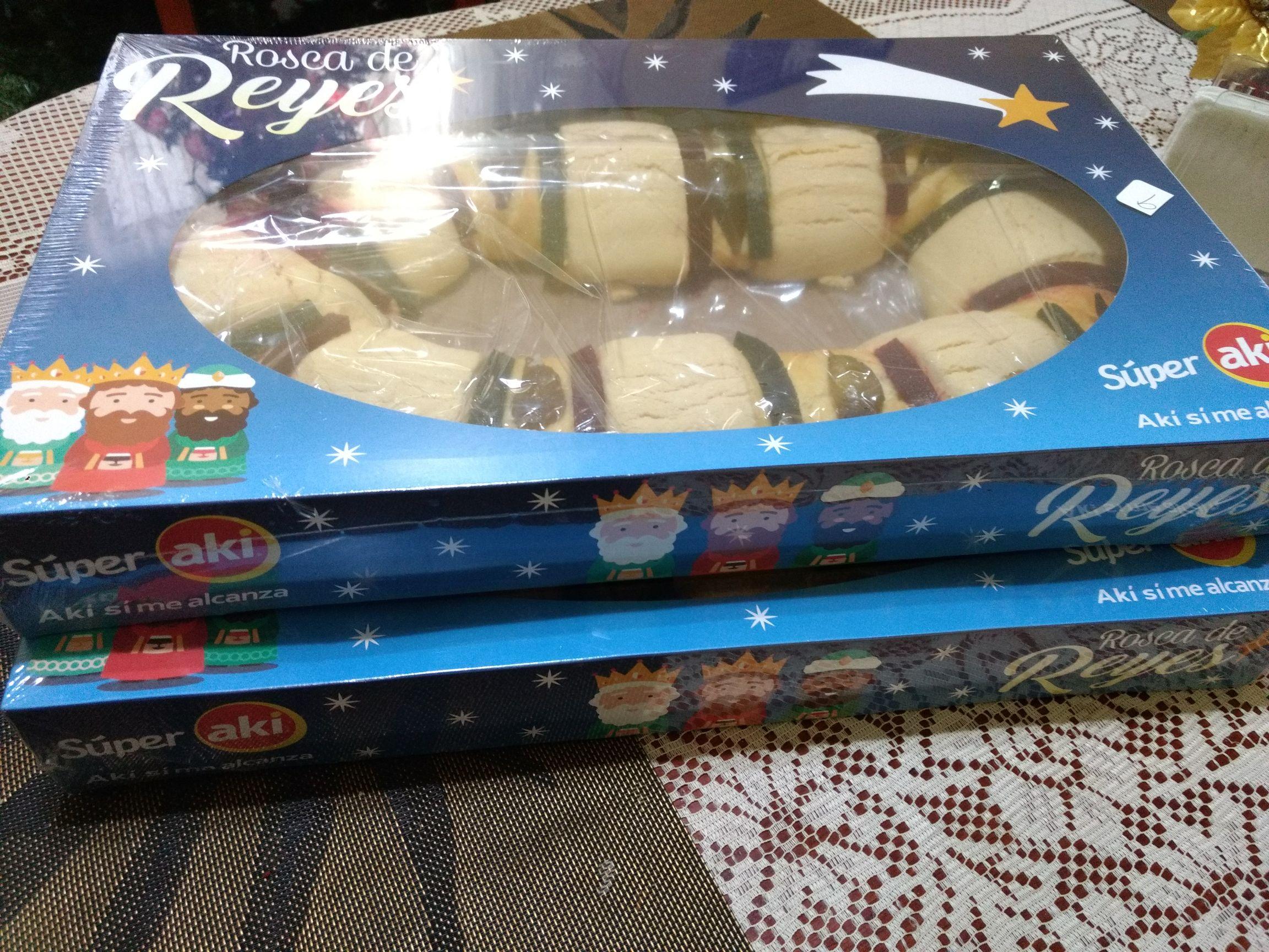 Super Aki: 2 roscas de reyes grandes por 99