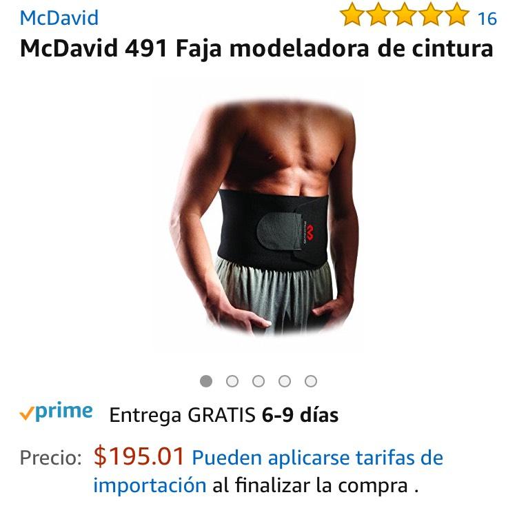 AMAZON : Faja Modeladora MCDAVID